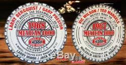 1968 Norra / Mexicain 1000 Trophy Global - Un D'une Sorte Baja 1000 Pointage