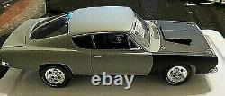 1/18 Route 61/ Supercar Collectibles-1968 Cuda Race Car Rare One Of A Kind