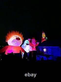 32' Pied Massive Christmas Inflatable Heat Miser Custom Made One Of A Kind