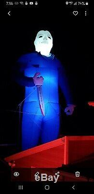 35' Pied Michael Myers Halloween Gonflable 1978 Film Custom Made One Of A Kind