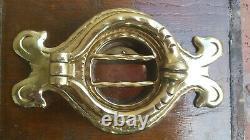 Antique L'un D'un Style Vintage Laiton Speakeasy Door Knocker Peephole