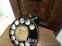 Antique Stromberg Carlson Chicago Téléphone One Of A Kind