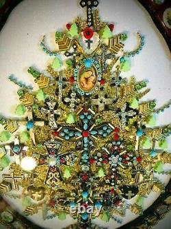 Arbre De Noël Cadres Vacances De Bijoux Une D'une Collection De Cadeaux D'art
