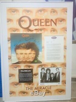 Autograph Queen Freddie Mercury Autogramm Souvenirs One Of A Kind