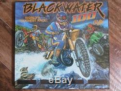Bally Midway Blackwater 100 Translite Custom Made Un Mur Hanging Of A Kind