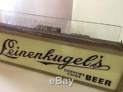 Barre Leinenkugels Vintage Barre Johnson Beer Super Rare Article Unique