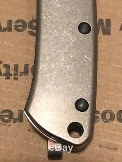 Benchmade Proper 319dlc-1801 Entièrement Personnalisé Avec Un Clip De Poche!