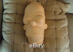 Big Homer Head The Simpsons 1991 Homer Simpson Unique En Son Genre