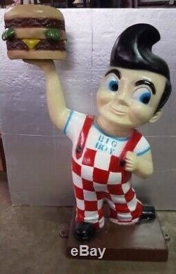Bobs Big Boy Statue En Aluminium Unique En Son Genre Cave Garage Garage Boutique Voiture Classique