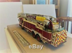 Boston Fd E-one Tour 10 1/50 Répliques Feu Fr0059-10 Nouveau Prototype 1 D'un Genre