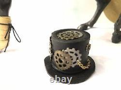 Breyer Steampunk Modèle Personnalisé Peint Avec Mesure Tack Set One Of A Kind