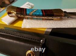 Buck 110 One Of A Kind Custom Handle And File Work New! 2007