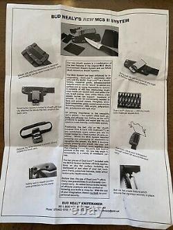 Bud Nealy Ackuchi Mcs II System Avec Plusieurs Méthodes De Transport Un D'un Genre