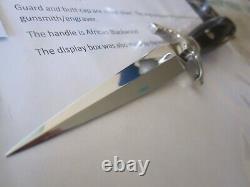 C. Gray Taylor Custom Art Knife Poignard D'art Très Rare Circa'74 Unique En Son Genre