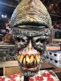 Casey Love Art, Masque De Monstre Rétro De Grande Taille, Autographié Et Unique