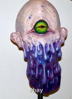 Casey Love Grand Monster Latex Art Masque Psychoplasm Un D'un Genre Incroyable