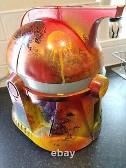 Casque Électronique Star Wars Clone Trooper Personnalisé. Unique En Son Genre