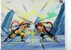 Cel Dragonball Fusion Goku Et Vegeta Ssj4 Un Des Dbgt Genre