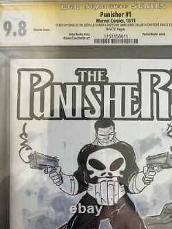 Cgc Punisher 1- Tue DC Universe! Rare D'un Genre! Signé Par Stan Lee! 9.8
