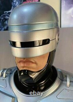 Chronique Collectibles 11 Robocop Bust Peter Weller One Of A Kind Prototype Nor