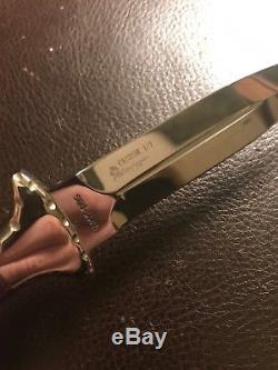 Couteau Beretta Avec Botte De Poignard Personnalisé De Yellowhorse Par Hattori Seki Japon