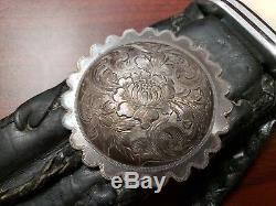 Couteau Biker Buck 120 Personnalisé, Avec Étui En Cuir Personnalisé