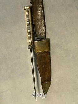 Couteau De Guerre Civile Bowie Couteau Superbe Un D'un Genre De Couteau Original Unique