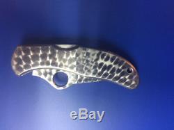 Couteau Pliant Vintage De Spyderco Worker G2, Fabriqué Sur Mesure Du Japon