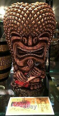 Crazy Al Tiki Sam Ku Ap Sammy's Beach Bar Rum Deluxe, One Of A Kind Mug