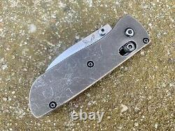 Custom One Of A Kind Benchmade Bugout Knife Par Blade Chops