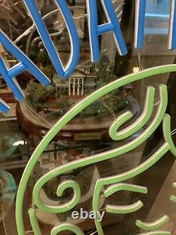 Custom One Of A Kind Disneyland Disney Madame Leota Haunted Mansion Lighted Sign