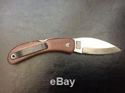 David Boye Couteau Pliant Fait À La Main