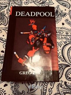 Deadpool Sur Mesure Lié Hardcovers! L @@ K! Unique En Son Genre