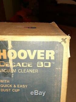 Décennie Hoover 80 Nouveau! Plume! Jamais Utilisé! Erreur Factory! Unique En Son Genre! Convertible
