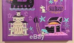 Disney Wonderground One Of A Kind Giclee Sur Une Toile Place De La Nouvelle-orléans Ben Burch