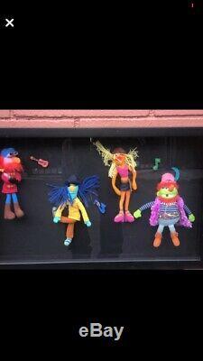 Dr Teeth Et The Electric Mayhem Band! One Of A Kind Affichage. Bébés Rares Muppet