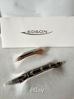 Edson Waterman Ltd Boucheron Édition Fountain Pen Nib One Of A Kind Spécimen