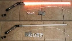 Émetteur De Lumière Courbé/angled Sabre Avec Fouet Lumineux Et Led Rouge (l'un D'un Type)