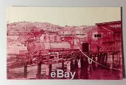 Error Train 100% Rare, Une Carte Postale De Type 3 1/2 Sur 5 1/2, 1950 # Error1