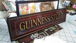 Extra Large Guinness Stout Miroir Un De Nature Que Ce Soit! Bar Irish Pub Retour Tavern Wow