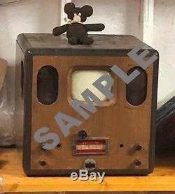Extrêmement Rare, Une Télévision Genre Prototype Hazeltine Avant-guerre, Après-guerre