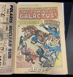Fantastic Four 48 Ccg 3.5 Signé Jack Kirby A Esquivé Joe Sinnott Un D'un Genre