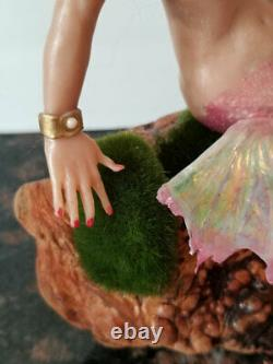 Fée Fantastique Sirène D'une Figurine Type D'argile Polymère