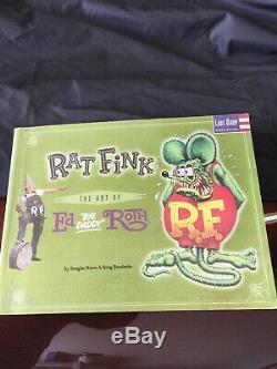 Fink De Rat Fait Sur Commande Grand Papa Ed Roth Longboard Original De Dextra Un Si Un Genre