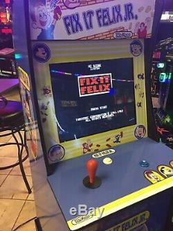 Fix It Felix Riser Wreck It Ralph Arcade Jeu Vidéo Cabinet One Of A Kind