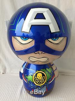 Funko Pop 18 Captain America Mega Dorbz Un D'une Sorte Personnalisée Hydra Capitaine