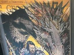 Game Of Thrones Un Affrontement De Rois # 1 Cgc 9.8 Ss Jon Snow