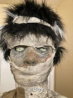 Gemmy Halloween Lifesize Maman Mariée Animatronic Parler Prop 6 Ft One Of A Kind
