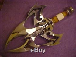 Gil Hibben La Main D'or Veuve Fantaisie Couteau One Of A Kind