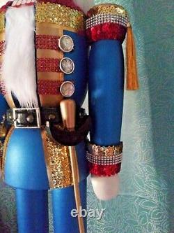 Grand 42 Soldat Casse-noisette Avec Épée - Montre De Poche De Travail One Of A Kind